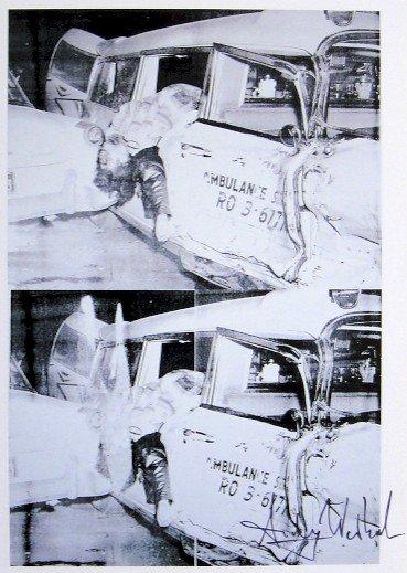 Fierce Death Warhol Auction, Ambulance Disaster