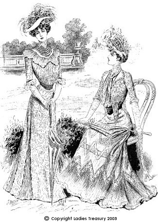 Inviting Death to Tea: The Pneumonia Blouse Fashion in the Edwardian Era, 1901-1919